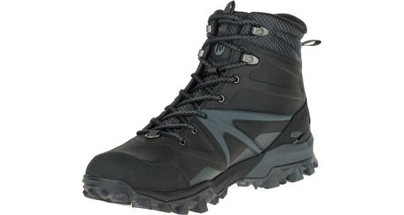 Merrell Capra Glacial Ice+ Mid Waterproof - Calzado Hombre - gris/negro